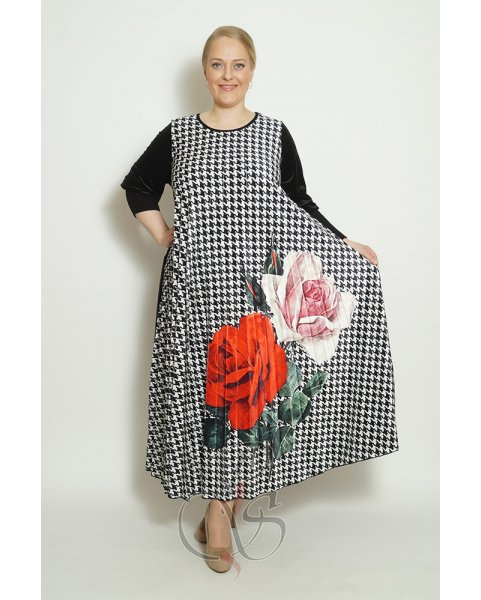 Платье Darkwin XO2042-6740