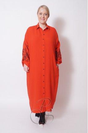 Платье - рубашка BIZE W2107-8808