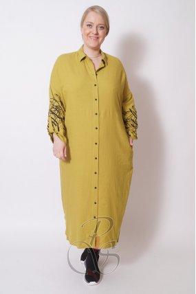 Платье - рубашка BIZE W2107-8816
