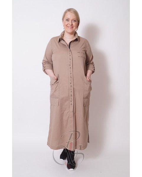 Платье - рубашка BIZE W2107-8826