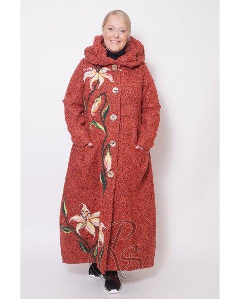 Пальто женское PepperStyle P2111-9406