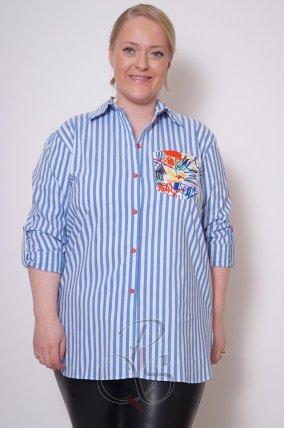 Рубашка женская LA MAXX W2115-9678