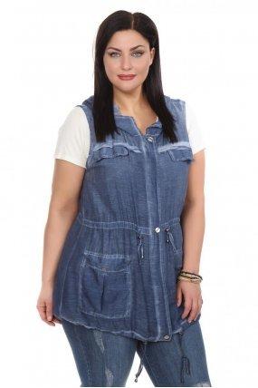 Жилет джинсовый женский Vitta Luxe R2021-4577