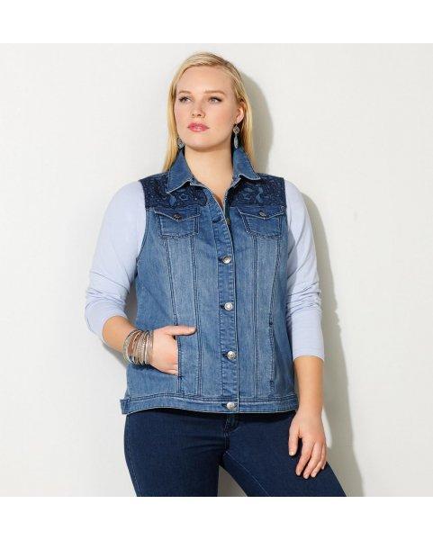 Жилет джинсовый женский Vitta Luxe R2021-4545