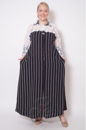 Женское платье - рубашка Darkwin W2125-0815