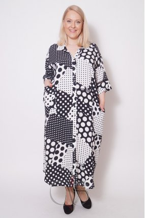 Платье - рубашка женское PepperStyle P2132-2162