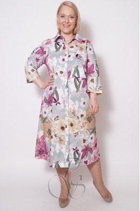 Платье - рубашка женское PepperStyle P2132-2167
