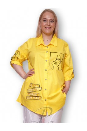 Рубашка женская PepperStyle P2139-3063