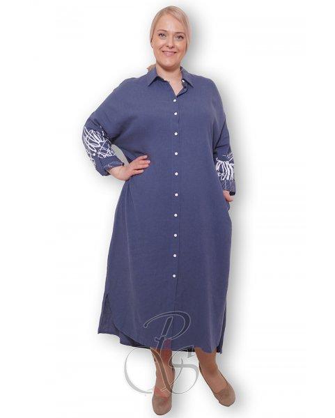 Платье - рубашка женское PepperStyle P2140-3210