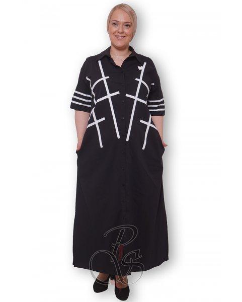 Платье - рубашка женское PepperStyle P2140-3262