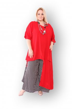 Костюм (брюки + туника) женский PepperStyle P2145-8040
