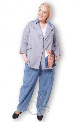 Комплект (Пиджак + брюки) женский PepperStyle P2143-3586