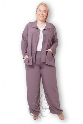 Комплект (Пиджак + брюки) женский PepperStyle P2143-3598