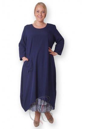 Комплект (платье + подъюбник) женский PepperStyle P2146-3814