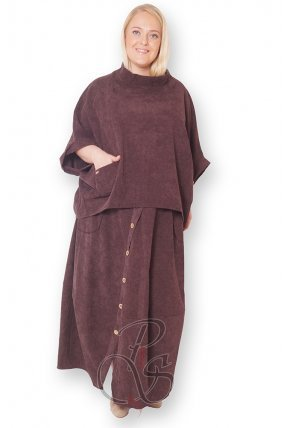 Комплект (кофта + юбка) женский PepperStyle R2157-5229
