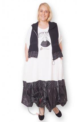 Комплект (платье + жилет) женский PepperStyle XO2159-5636